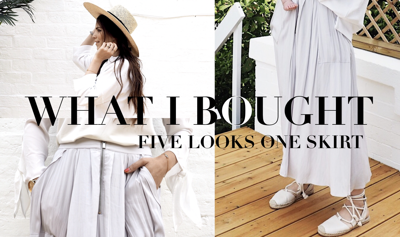 WHAT I BOUGHT | ONE Skirt – FIVE Different Looks